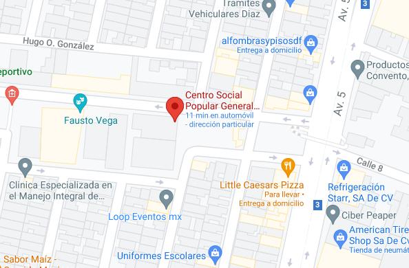 Explanada del Centro Social Ignacio Zaragoza